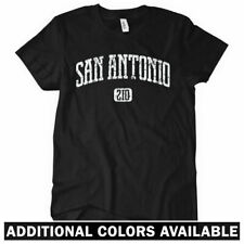 SAN ANTONIO T-shirt - Area Code 210 Texas Women's S-2XL
