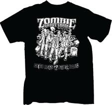 Zombie Ghost Train-Glad Rags & Body Bags- Rock Tee