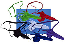 K335C Hot Sexy Men String Thong Contoured Pouch Sleeve Lot Sale