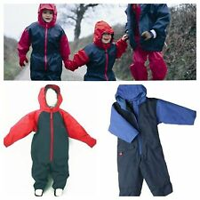 TOGZ BOYS/GIRLS/BABY/TODDLER/CHILDRENS WATERPROOF ALL IN ONE RAIN SUIT overalls