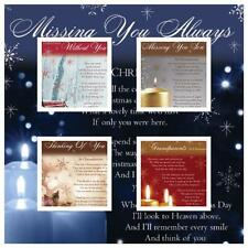 Christmas Graveside Memorial Bereavement Cards VARIETY