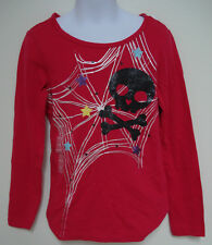 GAP KIDS GIRLS PINK LONG SLEEVE SKULL AND CROSS BONES LONG SLEEVE TSHIRT NWT