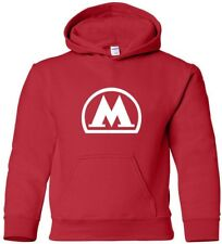 MOSCOW METRO Hooded Sweatshirt RUSSIAN Subway Hoodie COOL train HOODY