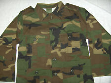 BOYS WOODLAND CAMOUFLAGE SHIRT 4 POCKETS  SIZE S,M,L,XL
