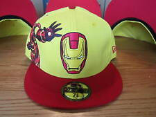 Iron Man 2 Cap Hat New Era Hat Marvel Comics 59Fifty Fitted Brand New