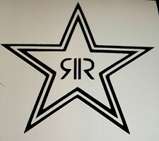 ROCK STAR ENERGY DRINK STICKER VINYL GRAPHIC DECAL CHOOSE YOUR OWN SIZE