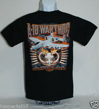 US AIR FORCE A10 WARTHOG THUNDERBOLT T-SHIRT FIGHTER JET