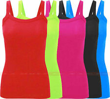V99 NEW WOMENS LADIES GIRLS SLEEVELESS RIB PLUS SIZE VEST TEE TOP IN SIZE 08-24