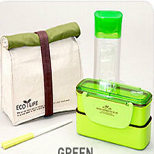 New Lock & Lock Bento lunch Box set Bento Insulated Bag Bottle-HpL 740