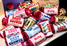 Personalised Baby Shower Love Hearts Party Favours - Choose design & quantity