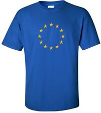 EU European Union Logo T-shirt FLAG COOL 90s EURO TEE