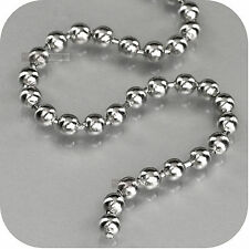 316L stainless steel ball chain necklace
