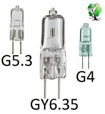 Box of 6, Ultra Halogen BiPin 12V Volt Replacement Puck Bulbs | G4 G5.3 GY6.35 |