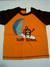 Gymboree NWT Surf Legend Surf School Monkey T-Shirt