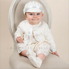 "Baby Beau & Belle ""Owen"" Boys Christening Suit, Baptism gown, Blessing outfit"