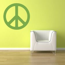 Wall Decal Peace Sign Symbol Hippie Retro Mod Modern Summer of Love