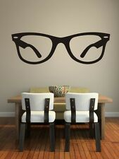 Wall Decal Hipster Glasses Optometrist Fashion Trendy Eyewear Specs Sunglasses