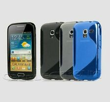 New Skidproof Rubber silicone case cover for Samsung galaxy ace2 i8160