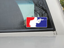 Airsoft Paintball Window Sticker Vinyl Decal - Avaiable in Var Sizes and Colors
