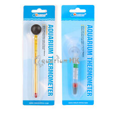 RESUN Aquarium Fish Tank Submersible Suction Glass Thermometer ST03 or ST04