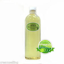 ORGANIC PECAN CARRIER OIL PURE COLD PRESSED 2 OZ 4 OZ -UP TO  7 LB