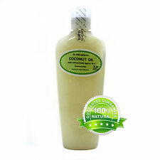 PURE ORGANIC COCONUT OILS COLD PRESSED 4 VARIETIES FROM 2 OZ - UP TO 1 GALLON