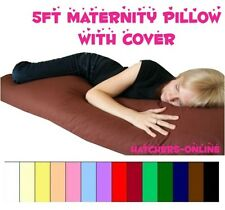MATERNITY/PREGNANCY/NURSING SUPPORT BODY PILLOW & COVER