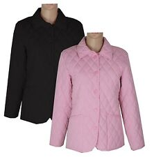 New Ladies Womens Fitted Horse Pony Riding Equestrian Quilted Fitted Jacket Coat