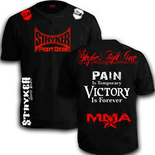Stryker T Shirt MMA BJJ GEAR UFC Karate Boxing JUDO With FREE Tapout Sticker w
