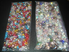SWAROVSKI CRYSTAL TEARDROP BEADS MIXED SIZES & COLORS 5*7MM & 8*12MM(USA SELLER)