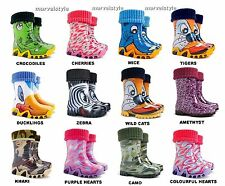 Kids, Boys, Girls Wellies, Wellington Boots Rainy Boots Snow Boots Size 4-2.5 UK