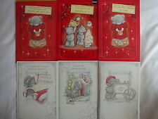 CHRISTMAS CARD DAD OR DAD 1ST CHRISTMAS FROM BOTH OF US ME TO YOU TATTY TEDDY