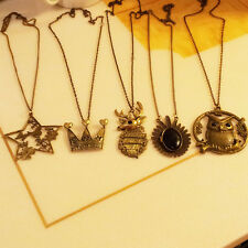 Freeship 5 options stylish antiqued vintage necklace match clothes perfect gift