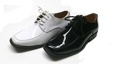 MENS TUXEDO FORMAL DRESS  SHOES PATENT LEATHER