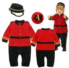 Baby Boy Party Costume Clothes, Army Solider Toddlers Halloween Xmas Outfit 0-24