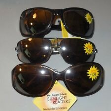 Dr. Dean Edell Sunglasses Sunlight Readers Invisible Bifocal 10 Styles NWT