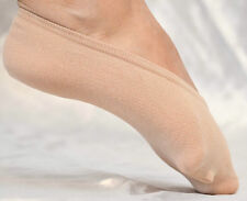 SHEER NO SHOW ONE SIZE STRETCHABLE SHOE FOOTIES IN 2 COLORS