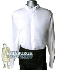 WING COLLAR SHIRT..WHITE..SIZES 14 TO 21..PERFECT WITH A KILT OUTFIT!