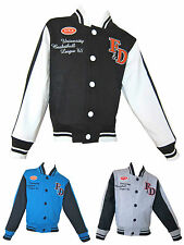Boys/Girls Baseball Casual Jacket Great Value Ages 4, 6, 8, 10, 12 & 14 Years