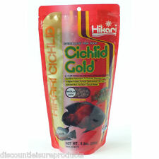 Hikari Cichlid Gold 250g Aquarium Tank Fish Food - Floating Mini/Medium Pellet