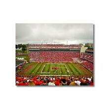Arkansas: Band forms U-of-A at Razorback Stadium Photo, Unframed, Framed, NCAA