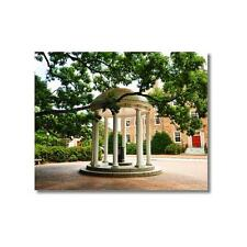 North Carolina: Old Well and South Building Photo, Print, Unframed, Framed, UNC