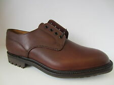 Mens Brown Leather Lace Up Loake Shoes  Epsom