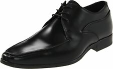 Men's Kenneth Cole New York Even The Score Black Leather Lace Up Dress Shoe