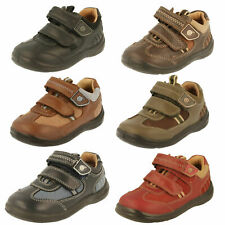 SALE £25.00 Boys Toddler Start rite Khaki and brown nubuck Shoes ROWDY