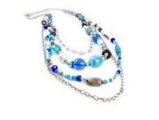 Maisha Elegant Beautiful Long Chain Necklace with glass beads FairTrade African
