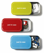 Just In Case Magnetic Tin Box (Storage Case) With Sliding Top By Monkey Business