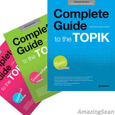 Complete Guide to the Topik Series Audio CD Hangul Learn Korean Text Book BO14