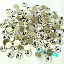 Swarovski 2058 flatback No-Hotfix rhinestone 1 gross 144 pcs clear CRYSTAL (001)