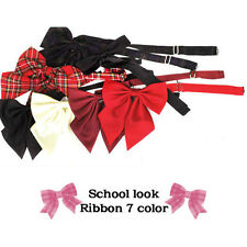 Japanese School Ribbon/Bow uniform Schollook Ribbon 7 colors cosplay